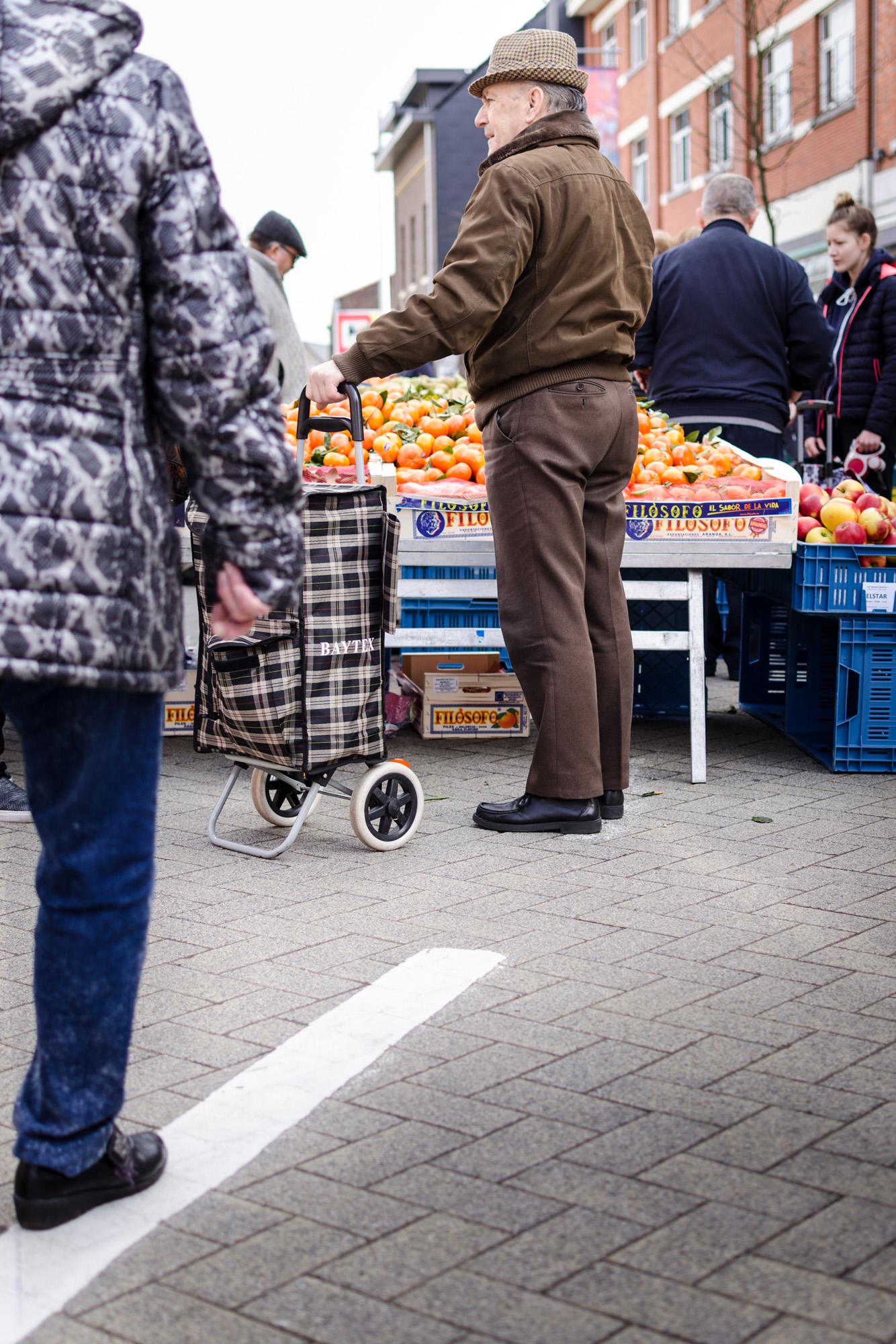 Op de markt - straatfotografie :: foto-rv