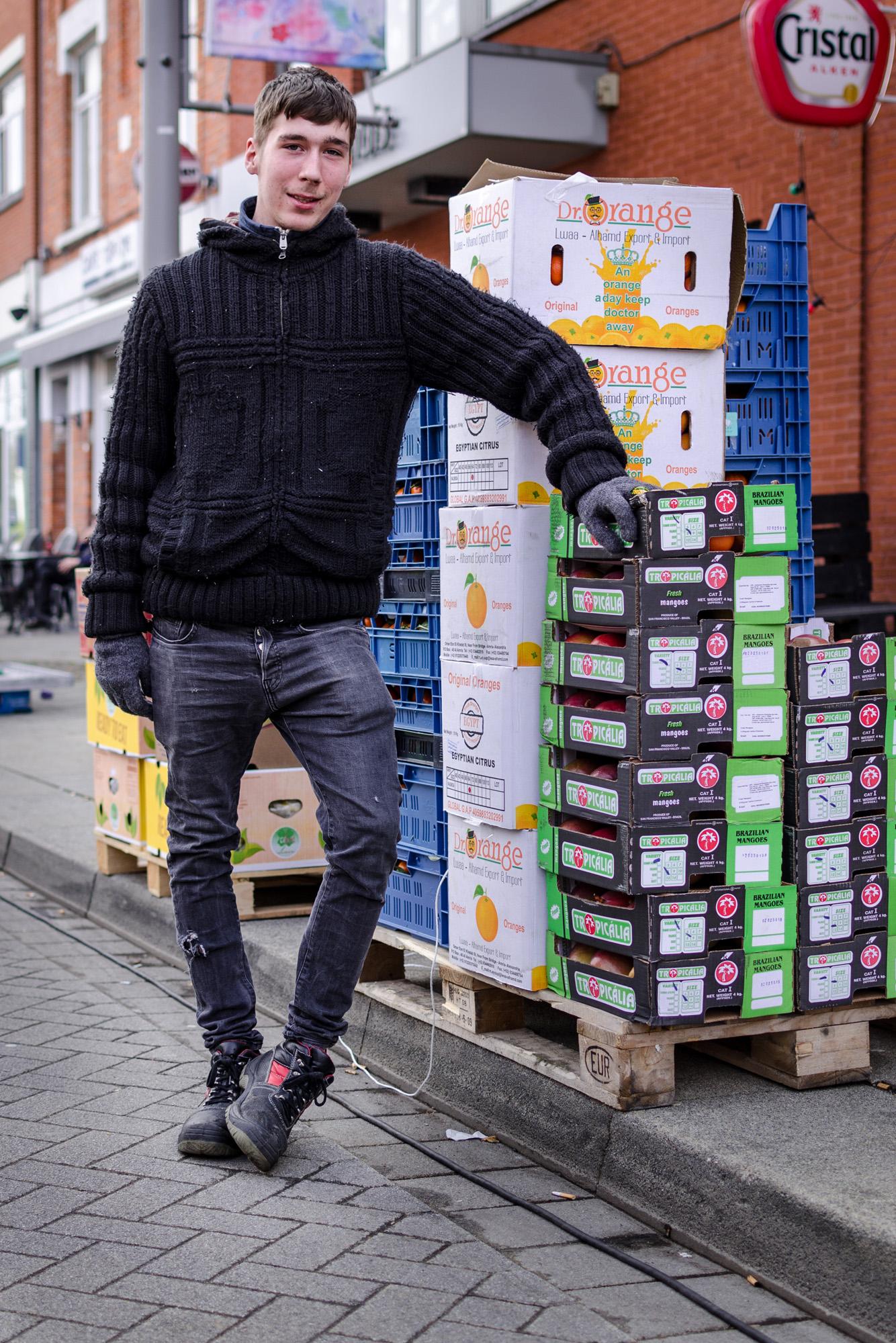 Portret op de markt - straatfotografie :: foto-rv