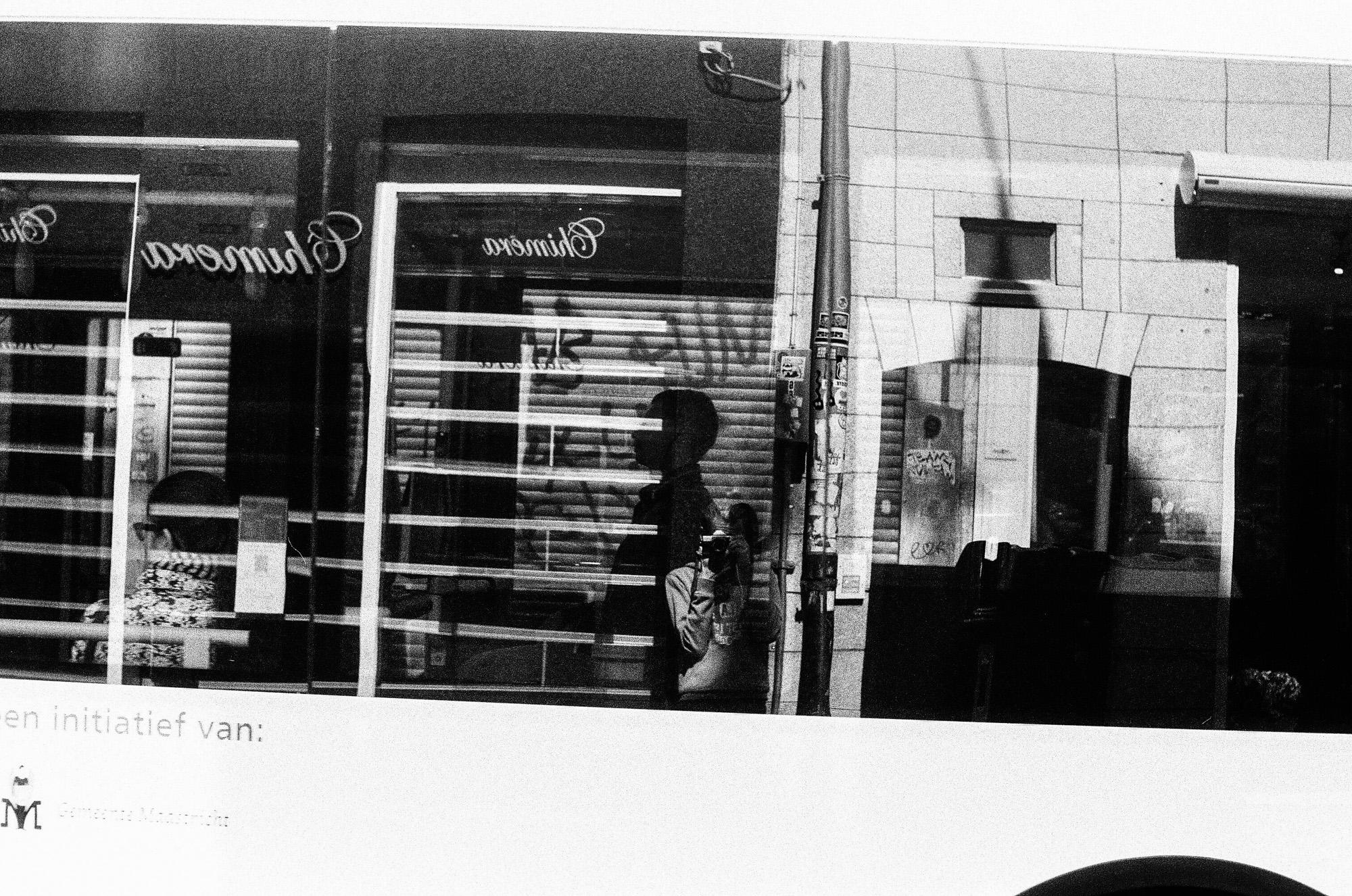selfie - straatfotografie :: foto-rv