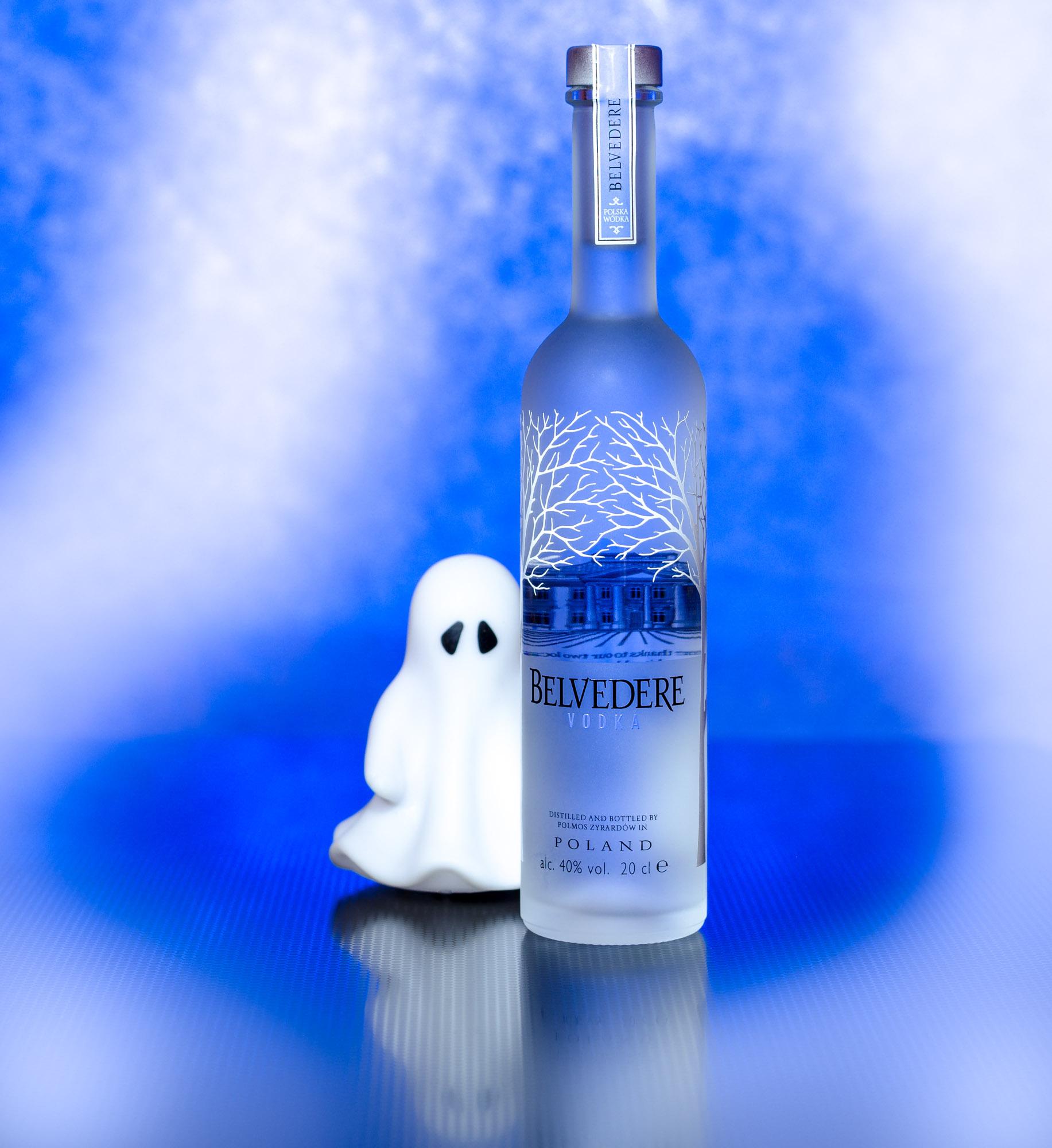Spooky Belvedere Vodka - studio fotografie :: foto-rv