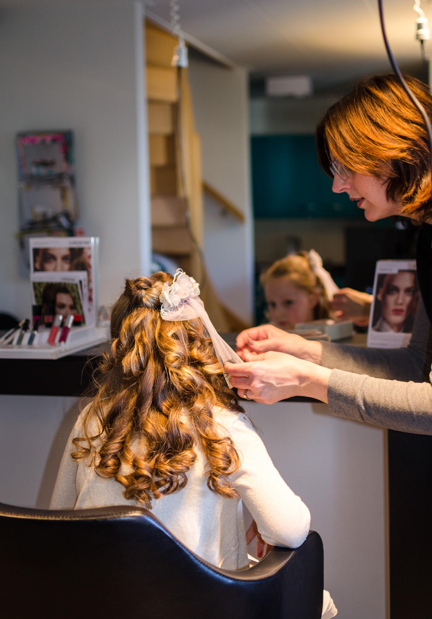 Communieshoot Hairstyling