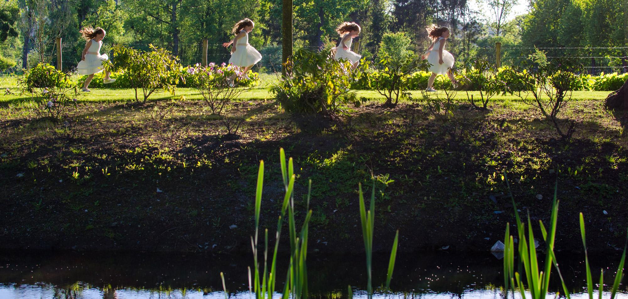 Communieshoot Esra spring in het veld